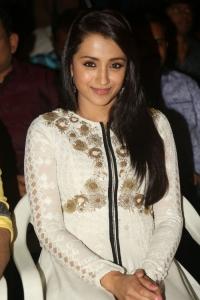 Actress Trisha @ Nayaki Movie Teaser Launch Stills