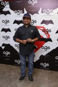 KV Anand @ Batman v Superman: Dawn of Justice Premiere Show at AGS Cinemas, T Nagar, Chennai