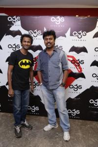 Aadhavan @ Batman v Superman: Dawn of Justice Premiere Show at AGS Cinemas, T Nagar, Chennai