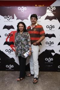 Batman v Superman: Dawn of Justice Premiere Show at AGS Cinemas, T Nagar, Chennai