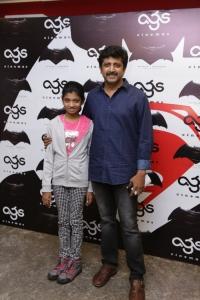 Mohan Raja @ Batman v Superman: Dawn of Justice Premiere Show at AGS Cinemas, T Nagar, Chennai