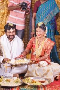 Bobby Simha & Reshmi Menon Wedding Images