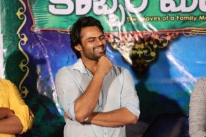 Sai Dharam Tej @ Kobbari Matta Movie Teaser Launch Stills
