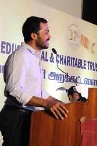 Karthi @ 37th Sri Sivakumar Educational Charitable Trust Award Function Stills