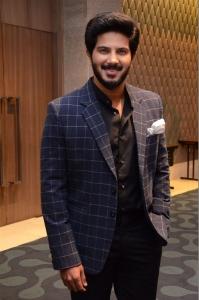 Actor Dulquer Salmaan @ 100 Days of Love Pre-Release Press Meet Stills