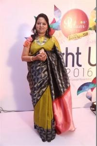 Jeyasree Ravi @ Palam Silks Light Up 2016 Diwali Concept Collection Launch Stills