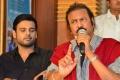Nawin VijayKrishna, Mohan Babu @ Nandini Nursing Home Triple Platinum Disc Function Stills