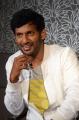 Actor Vishal Images @ Okkadochadu Movie Promotions