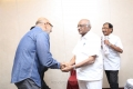 Sathyaraj, SP Muthuraman @ MGR 100th Birth Anniversary @ Le Meridien Chennai Stills