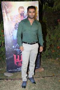 Sachiin J. Joshi @ Yaar Ivan Movie Press Meet Stills