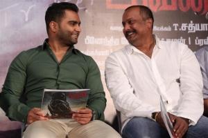 Sachin J Joshi, Tatineni Satya @ Yaar Ivan Movie Press Meet Stills