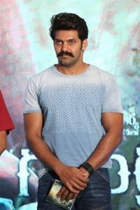 Actor Arya @ Gajendrudu Audio Launch Stills