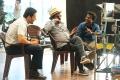 Mahesh Babu, Santosh Sivan, AR Murugadoss @ Spyder Working Stills HD
