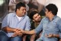 S Thaman, Ashwin Babu, Nagarjuna @ Raju Gari Gadhi 2 Success Meet Stills