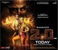 Rajinikanth, Amy Jackson in 2.0 Movie Audio Release in Dubai Today Wallpapers
