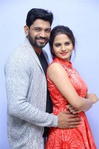 Vishal Punna, Priyanka Sharma @ Sarovaram Audio Launch Photos