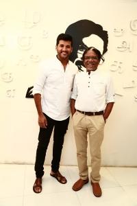 Vijay Yesudas, Bharathiraja @ Padaiveeran Movie Trailer Launch Stills