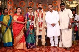 Seetha, SPB @ Parthiban daughter Keerthana Akshay Wedding Photos
