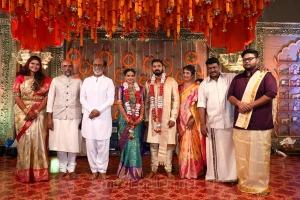 Sreekar Prasad, Rajinikanth @ Parthiban daughter Keerthana Akshay Wedding Photos