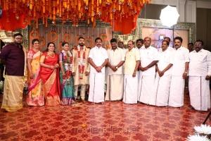 TN CM Edappadi K Palanisamy @ Parthiban daughter Keerthana Akshay Wedding Photos