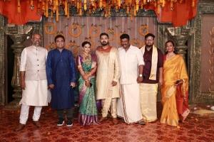 AR Rahman @ Parthiban daughter Keerthana Akshay Wedding Photos