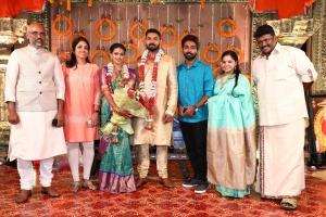 GV Prakash,  Saindhavi @ Parthiban daughter Keerthana Akshay Wedding Photos