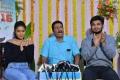 Nikhil Siddharth, Samyuktha Hegde, Anil Sunkara  @ Kirrak Party Movie Success Celebrations Stills
