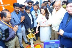 Actress Kajal Launches Happi Mobiles at Karimnagar Photos