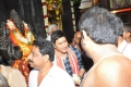 Mahesh Babu's Bharat Ane Nenu Team at Vijayawada Durgamma Temple Photos