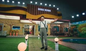 Actor Kamal Haasan at Bigg Boss Season 2 Sets Photos