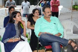 Niharika Konidela, Nagendra Babu @ Nirvana Cinemas Production No 1 Movie Opening Stills