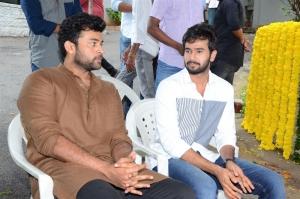 Varun Tej, Rahul Vijay, @ Nirvana Cinemas Production No 1 Movie Opening Stills