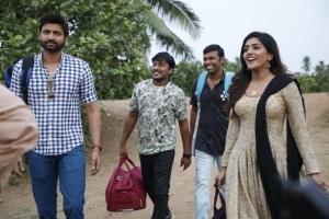 Sumanth, Eesha Rebba @ Subramanyapuram Movie Working Stills