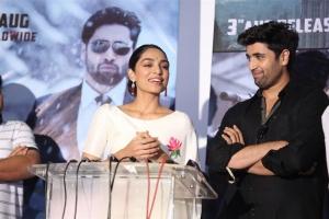 Sobhita Dhulipala, Adivi Sesh @ Goodachari Movie Trailer Launch Photos