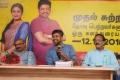 Radha Mohan, Madhan Karky, Dhananjayan @ Kaatrin Mozhi Lyrics Writing Contest Press Meet Stills