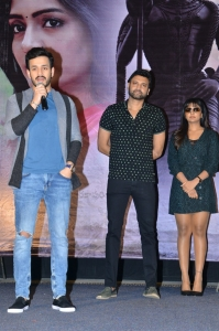 Akhil Akkineni, Sumanth @ Subramanyapuram Movie Trailer Launch Stills