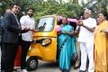 Abirami Ramanathan launches Pink Auto in Chennai Photos