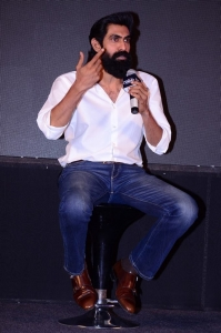 Actor Rana Daggubati @ Avengers Endgame Press Meet Hyderabad Stills