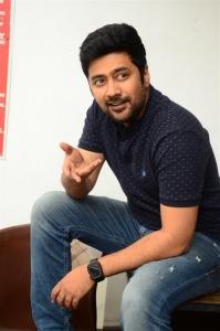 Manmadhudu 2 Movie Director Rahul Ravindran Interview Photos