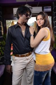 Daniel Balaji, Runya @ Marumugam Movie Stills