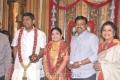 Bhagyaraj, Poornima @ Four Frames Kalyanam son Wedding Pictures