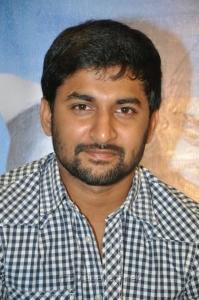 Telugu Actor Nani at SMS Movie Platinum Disk Function