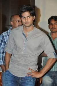 Naga Sudhir Babu at SMS Movie Platinum Disk Function