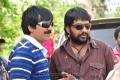 Ravi Teja, YVS Chowdary @ Nippu Working Stills