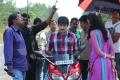 Ravi teja, Deeksha Seth at Nippu Working Stills