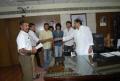 SS Rajamouli and Vaada Team Meets CM