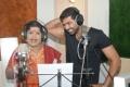 Arun Vijay sings with LR Eswari