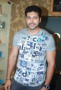 Jayam Ravi at Puneet Gupta Invitations