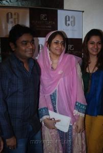 AR Rahman wife Saira Banu at Puneet Gupta Invitations