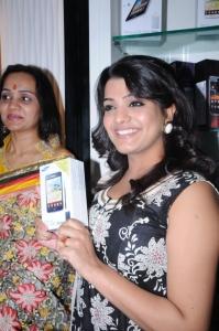 Tashu Kaushik at Amori Cell Phone Super Store, Hyderabad